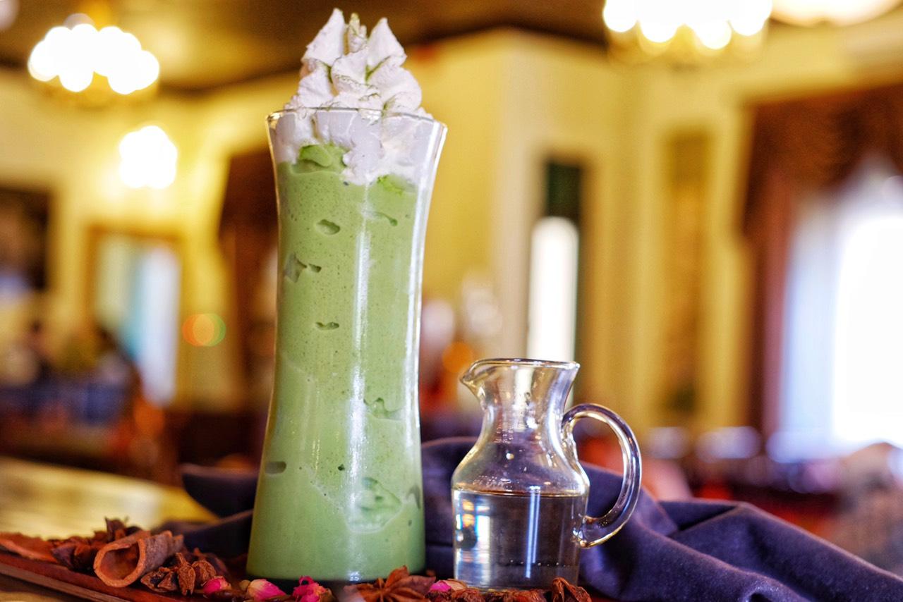 TRÀ XANH ĐÁ XAY/ GREEN TEA ICE BLENDED